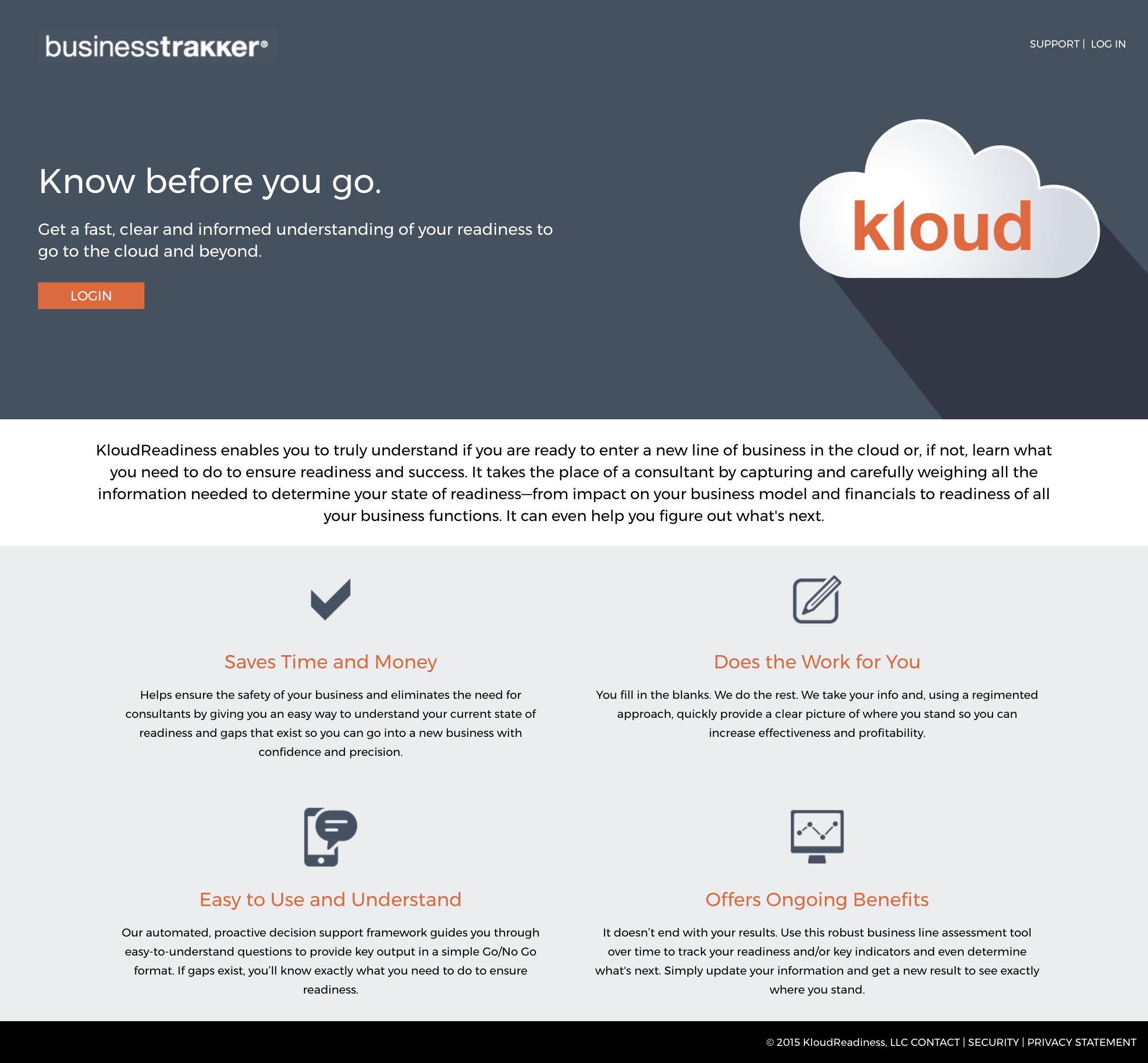 KloudReadiness screenshot #0
