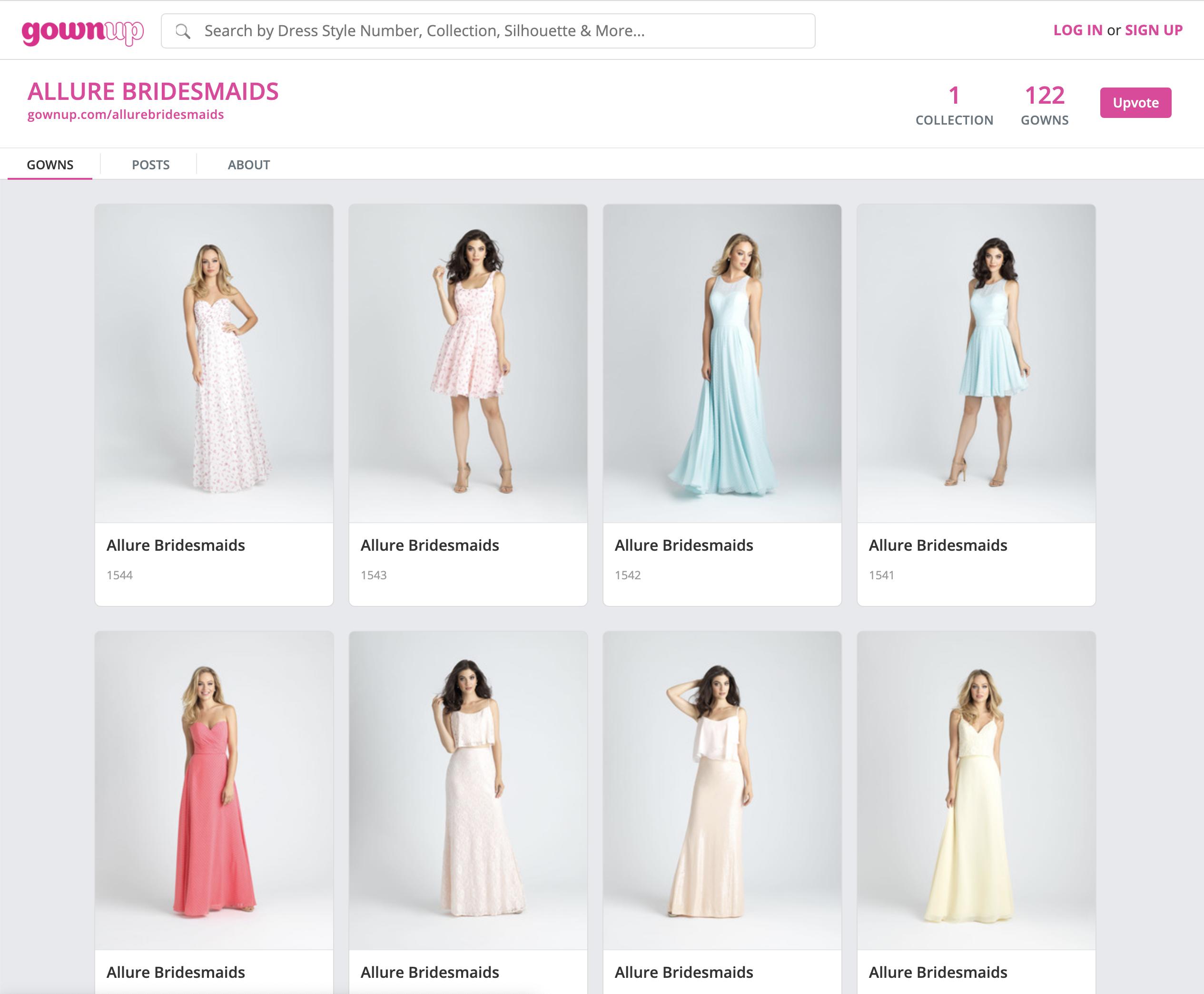 GownUp.com screenshot #4