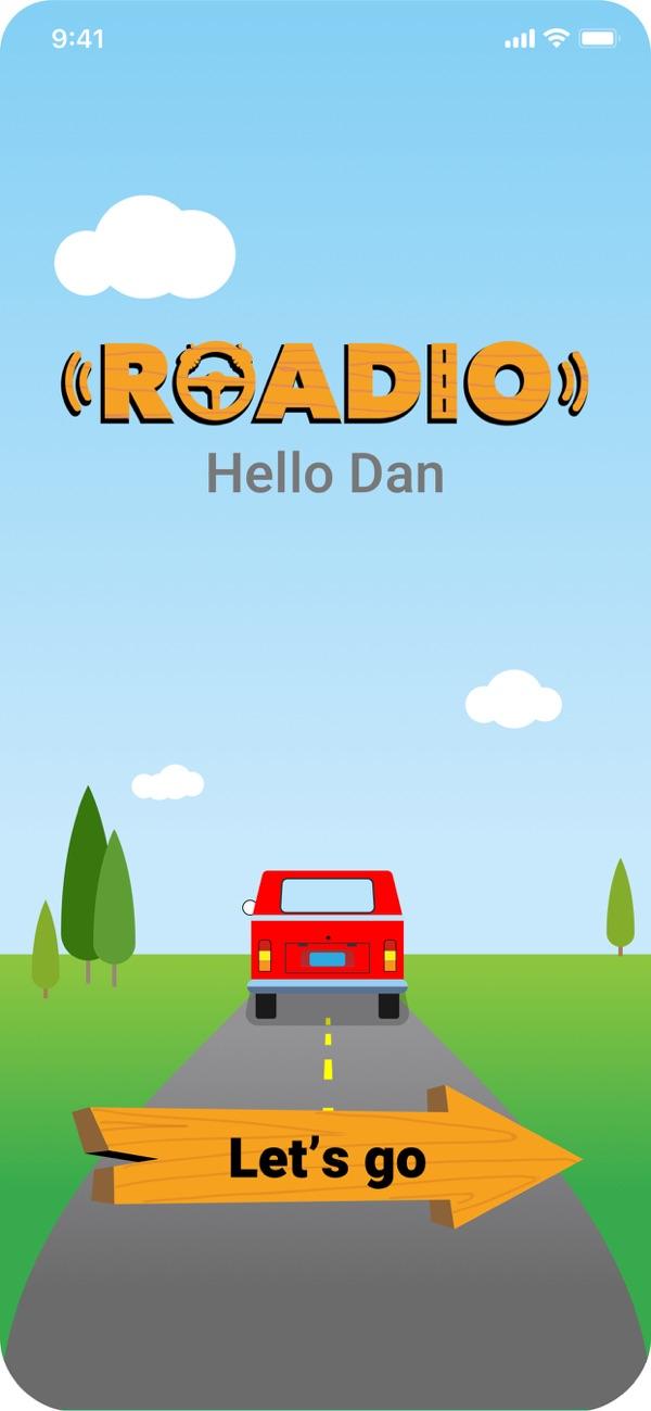 Roadio screenshot #0