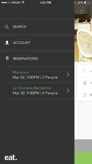 Eat App screenshot #1