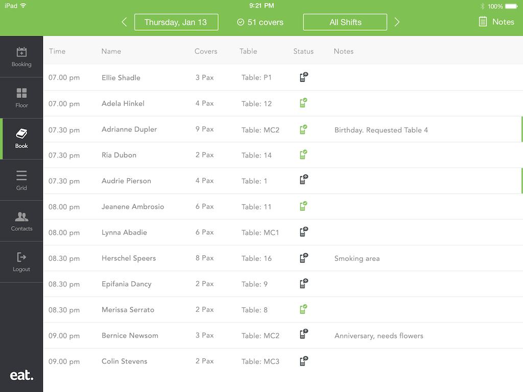 Eat App screenshot #9