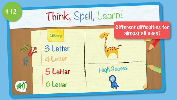 Think, spell, learn! screenshot #2
