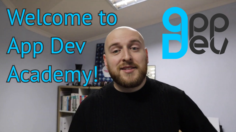 Welcome to App Dev Academy! main picture